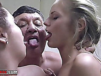 Mom daughter and lover sex Italian, hot...