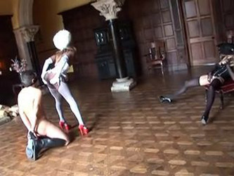 Hot Interracial Dominatrix Gets Plugged
