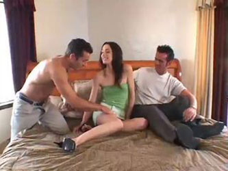 Wife Summer tastes new cock and husband...