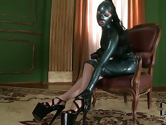 The lusty Latex Lucy returns  in a...