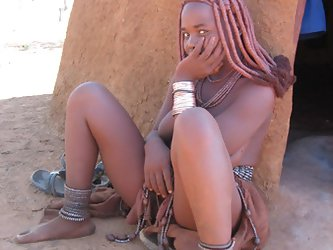 Real african tribes posing nude. Real wild...