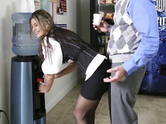 I fucked my coworker hard in the...