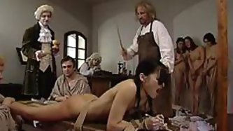 Submissive Bound Teens Get Spanked In A...