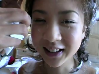 Petite Jap chick Aki Hoshino is a cute...