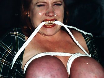 Huge boobed Rusty gets her giant melons...