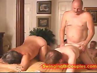 Bi Orgy With Grandpa And Teen G 1fuckdatecom