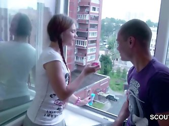 He seduce petite step-sister to Fuck and...