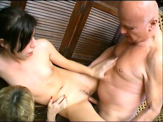 A luscious mature lady and a nasty...
