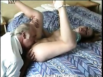 REAL Amateur Father And Daughter