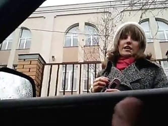 rus Public Masturb in AUTO ABUSES GIRLS 40...