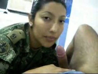 While i served in Israeli army I got laid...