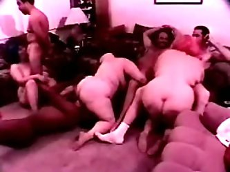 This is crazy group sex with horny and...