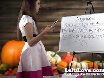 Lelu Love-November 2015 Cum Schedule